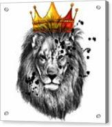 Lion King  Acrylic Print