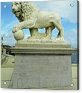 Lion On The North Side Acrylic Print