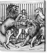 Lion Tamer, 1873 Acrylic Print