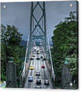 Lions Gate Bridge Acrylic Print