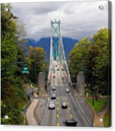 Lion's Gate Bridge Acrylic Print