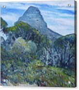 Lions Head Cape Town South Africa 2016 Acrylic Print