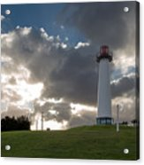 Lion's Lighthouse For Sight - 2 Acrylic Print