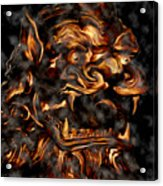 Lions Roar Acrylic Print