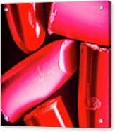 Lipgloss And Letdown Acrylic Print