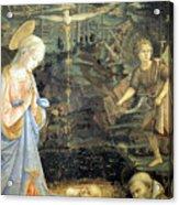 Lippi  Fra Filippo Painting Year1463 Acrylic Print
