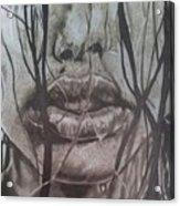 Lips Acrylic Print