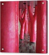 Lipstick Forest 4 Acrylic Print