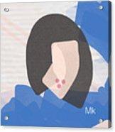 Lipstick Acrylic Print