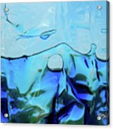 Liquid Abstract  #0059 Acrylic Print