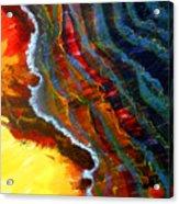 Liquid Abstract Fifteen Acrylic Print