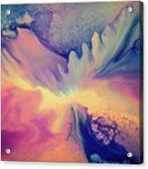 Liquid Abstract Nebula Acrylic Print