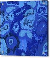 Liquid Blue Dream - V1lle30 Acrylic Print