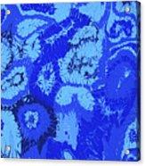 Liquid Blue Dream - V1sl100 Acrylic Print