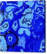 Liquid Blue Dream - V1vhkf100 Acrylic Print