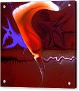 Liquid Relief Acrylic Print