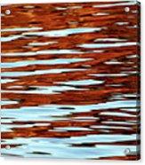 Liquid Sunset Acrylic Print