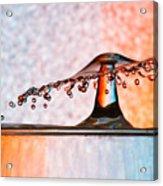 Liquid Umbrella Acrylic Print