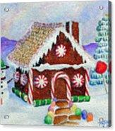 Lisa's Gingerbread House Acrylic Print