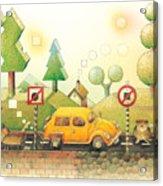 Lisas Journey02 Acrylic Print