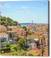 Lisbon Aerial View Acrylic Print