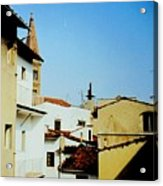 Lisbon Angles Acrylic Print