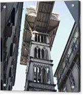 Lisbon City Elevator Acrylic Print