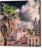 Lisbon Cityscape 4 Acrylic Print