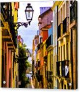 Lisbon Hills Acrylic Print
