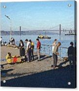 Lisbon Pier 4 Acrylic Print