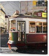 Lisbon Tram, Portugal Acrylic Print