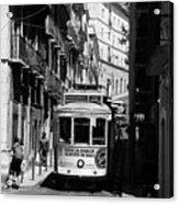 Lisbon Trolley 16b Acrylic Print