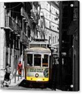 Lisbon Trolley 16c Acrylic Print