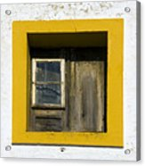 Lisbon Window Acrylic Print