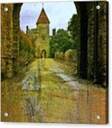 Lismore Castle Gate Acrylic Print