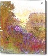 Listen To The Stillness Acrylic Print