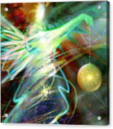 Lite Brought Forth By The Archkeeper Acrylic Print by Stephen Lucas