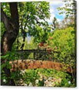 Lithia Park Bridge Acrylic Print