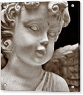 Little Angel - Sepia Acrylic Print