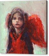 Little Angel Acrylic Print