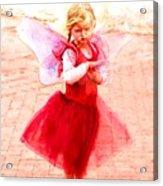 Little Angel Wings Acrylic Print