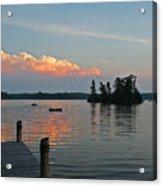 Little Bald Lake Acrylic Print