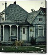 Little Blue House Acrylic Print