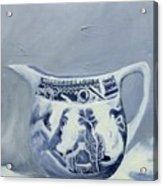 Little Blue Jug Acrylic Print