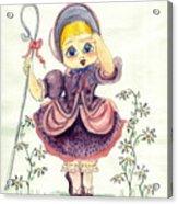 Little Bo Peep Acrylic Print