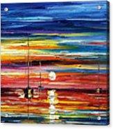 Little Boat Acrylic Print