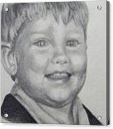 Little Boy Portrait Acrylic Print