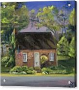 Little Brick House  Acrylic Print