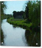 Little Brosna River Riverstown Ireland Acrylic Print