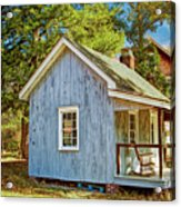 Little Cabin In The Country Pine Barrens Of New Jersey Acrylic Print